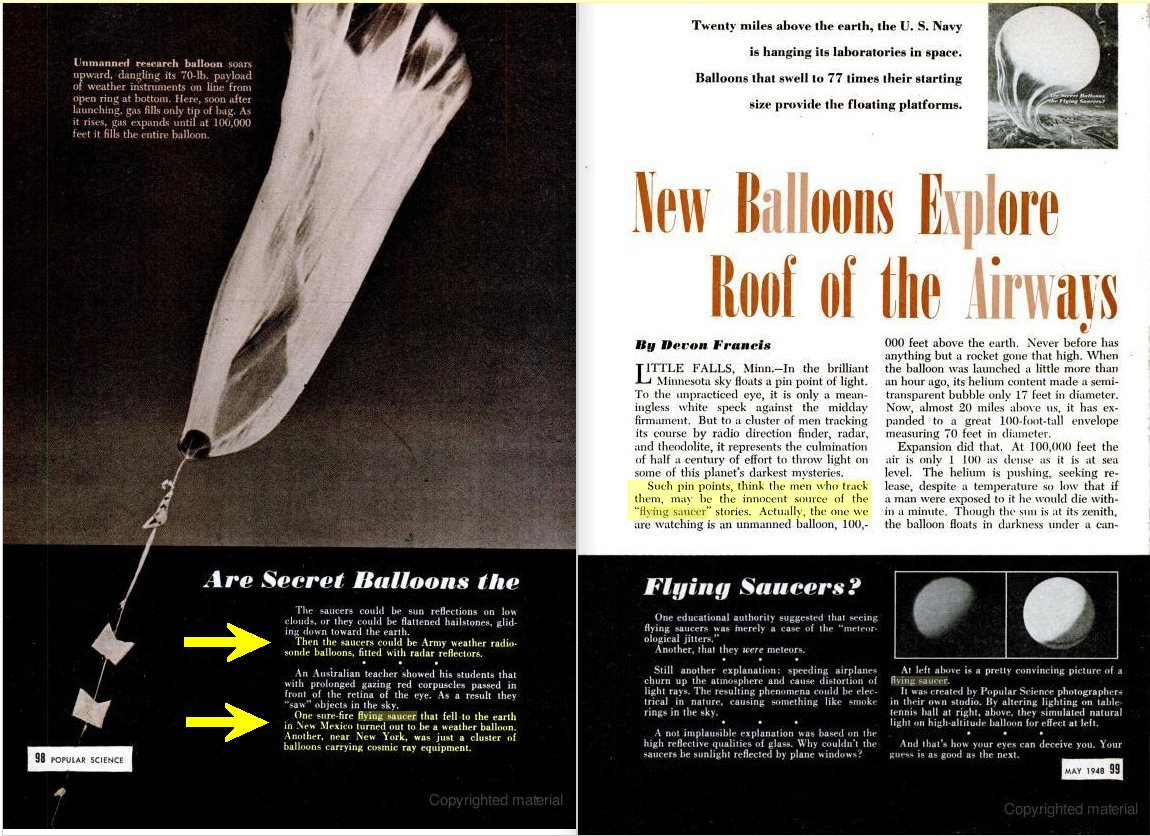 Post 1947 Roswell References Wiring Diagram Saucers After The Photo Was Same One Published In Alamogordo News On July 10 Title And Caption Of Magazine Read